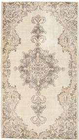Colored Vintage Rug 119X212 Authentic  Modern Handknotted Beige/Light Grey (Wool, Turkey)