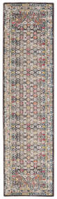 Chillon - Brown/Multi Rug 80X300 Modern Hallway Runner  Light Grey/Brown ( Turkey)