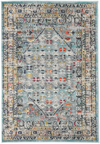 Chillon - Light Blue/Multi Rug 120X170 Modern Dark Green/Light Grey ( Turkey)