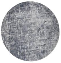 Scout - Mixed Grey Rug Ø 200 Modern Round Light Blue/Light Grey/Dark Grey ( Turkey)