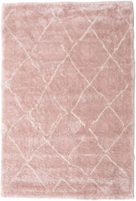 Shaggy Agadir - Soft Rose/Off-White Rug 200X300 Modern Light Pink/Light Purple ( Turkey)