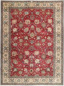 Tabriz Patina Rug 284X390 Authentic  Oriental Handknotted Dark Brown/Light Grey Large (Wool, Persia/Iran)