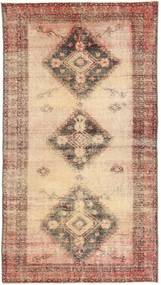 Colored Vintage Rug 108X203 Authentic  Modern Handknotted Light Brown/Brown (Wool, Persia/Iran)