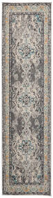 Leia - Grey Rug 80X300 Modern Hallway Runner  Light Grey/Dark Grey ( Turkey)