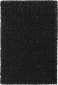 Lotus - Dark Grey Rug 200X300 Modern Black ( Turkey)