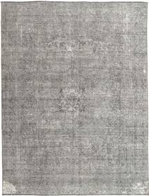 Colored Vintage Rug 276X365 Authentic  Modern Handknotted Light Grey/Dark Grey Large (Wool, Persia/Iran)