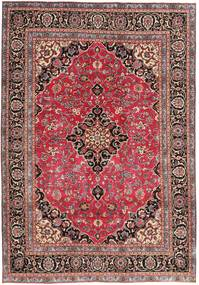 Mashad Patina Rug 195X278 Authentic  Oriental Handknotted Dark Red/Rust Red (Wool, Persia/Iran)