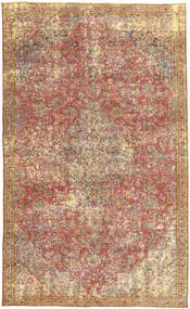 Colored Vintage Rug 166X270 Authentic  Modern Handknotted Light Brown/Brown/Dark Red (Wool, Persia/Iran)