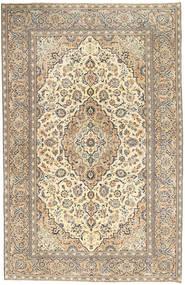Keshan Patina Rug 190X296 Authentic Oriental Handknotted Light Grey/Dark Beige (Wool, Persia/Iran)