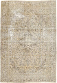Colored Vintage Rug 267X383 Authentic  Modern Handknotted Light Grey/Beige Large (Wool, Persia/Iran)