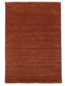 Handloom Fringes - Deep Rust Rug 140X200 Modern Rust Red/Crimson Red/Dark Red (Wool, India)