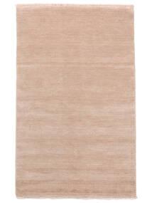 Handloom Fringes - Soft Rose Rug 140X200 Modern Light Pink/Beige (Wool, India)