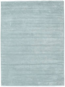 Handloom Fringes - Ice Blue Rug 160X230 Modern Light Blue (Wool, India)
