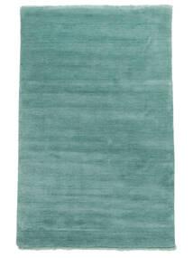Handloom Fringes - Aqua Rug 140X200 Modern Turquoise Blue (Wool, India)