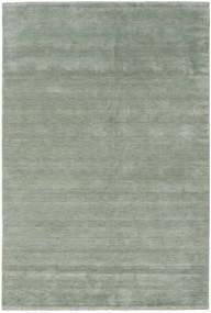 Handloom Fringes - Soft Teal Rug 300X400 Modern Light Green/Dark Grey Large (Wool, India)