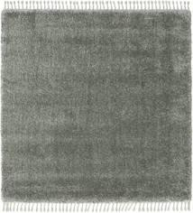 Boho - Soft Green Rug 200X200 Modern Square Dark Green/Light Grey/Dark Grey ( Turkey)