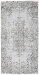 Colored Vintage Rug 112X213 Authentic  Modern Handknotted Light Grey/White/Creme (Wool, Turkey)