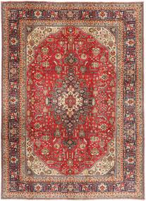 Tabriz Rug 200X281 Authentic  Oriental Handknotted Dark Red/Light Brown (Wool, Persia/Iran)