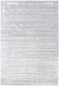 Bamboo Silk Loom - Grey Rug 200X300 Modern White/Creme/Light Grey ( India)