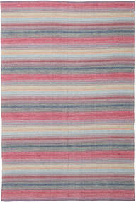 Wilma - Pink Rug 220X320 Authentic  Modern Handwoven Light Purple/Light Pink (Cotton, India)