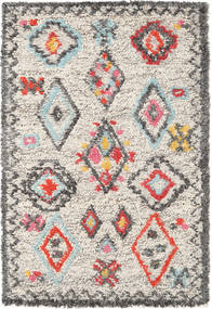 Fatima - Multi Rug 120X180 Authentic  Modern Handwoven Light Grey/Beige (Wool, India)