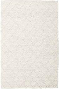 Rut - Ice Grey Melange Rug 200X300 Authentic  Modern Handwoven White/Creme/Dark Beige/Beige (Wool, India)