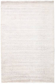 Damask Indo Rug 171X261 Authentic  Modern Handknotted White/Creme/Beige/Light Grey ( India)