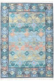 Azteca - Blue Mix Rug 160X230 Authentic  Modern Handwoven Light Blue/Light Grey (Wool, India)