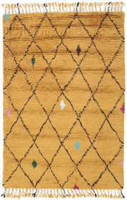 Alta - Gold Rug 120X180 Authentic Modern Handknotted Light Brown/Yellow (Wool, India)