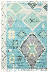 Odda - Turquoise Rug 200X300 Authentic Modern Handknotted Beige/Turquoise Blue (Wool, India)