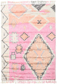 Odda - Pink Rug 160X230 Authentic  Modern Handknotted Light Pink/White/Creme (Wool, India)