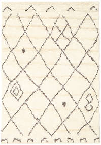 Almaaz - White Rug 140X200 Authentic  Modern Handknotted Beige/White/Creme (Wool, India)