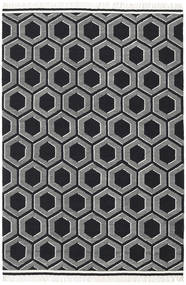 Opti - Black/White Rug 300X400 Authentic  Modern Handwoven Dark Grey Large (Wool, India)