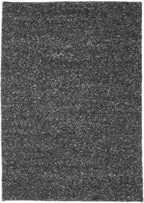 Bubbles - Melange Black Rug 170X240 Modern Dark Grey (Wool, India)