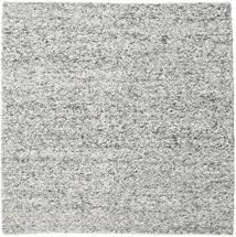 Bubbles - Melange Grey Rug 250X250 Modern Square Light Grey/Dark Grey Large (Wool, India)