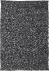 Bubbles - Melange Black Rug 300X400 Modern Dark Grey Large (Wool, India)