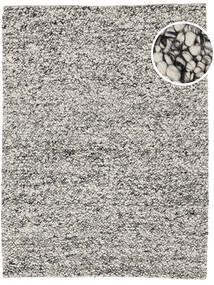 Bubbles - Melange Grey Rug 250X350 Modern Light Grey/Turquoise Blue Large (Wool, India)