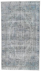 Colored Vintage Rug 154X278 Authentic  Modern Handknotted Light Grey/Light Blue (Wool, Turkey)