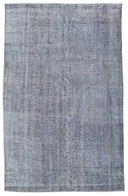 Colored Vintage Rug 160X255 Authentic  Modern Handknotted Light Blue/Dark Grey (Wool, Turkey)