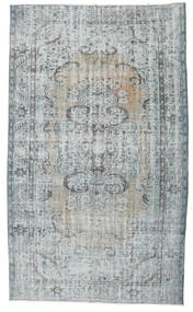 Colored Vintage Rug 170X294 Authentic  Modern Handknotted Light Grey (Wool, Turkey)
