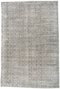 Colored Vintage Rug 197X290 Authentic  Modern Handknotted Light Grey (Wool, Turkey)