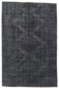 Colored Vintage Rug 145X220 Authentic  Modern Handknotted Dark Grey/Black (Wool, Turkey)