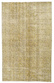 Colored Vintage Rug 162X257 Authentic  Modern Handknotted Light Green/Olive Green (Wool, Turkey)