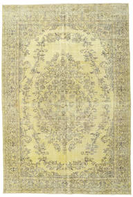Colored Vintage Rug 172X257 Authentic  Modern Handknotted Light Green/Yellow (Wool, Turkey)
