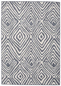 Savanna - Dark Blue/Light Grey Rug 120X180 Modern Light Grey/Dark Grey ( Turkey)