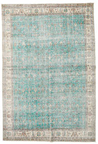 Taspinar Rug 207X300 Authentic  Oriental Handknotted Light Grey/Turquoise Blue (Wool, Turkey)