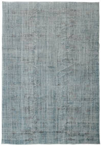 Colored Vintage Rug 210X305 Authentic  Modern Handknotted Light Grey/Light Blue (Wool, Turkey)