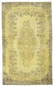 Colored Vintage Rug 176X288 Authentic  Modern Handknotted Yellow/Light Green (Wool, Turkey)