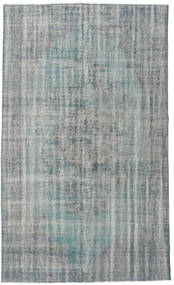 Colored Vintage Rug 172X288 Authentic  Modern Handknotted Dark Grey/Turquoise Blue (Wool, Turkey)