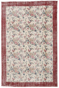 Colored Vintage Rug 207X314 Authentic  Modern Handknotted Light Grey/White/Creme (Wool, Turkey)
